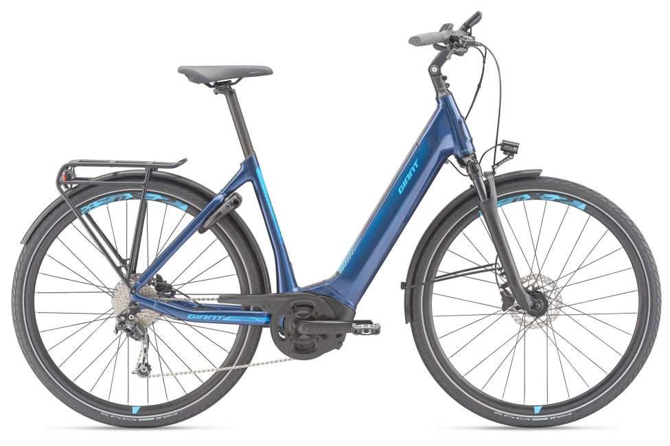 AnyTour E+ 2 LDS Power 25km/h M Metallic Blue